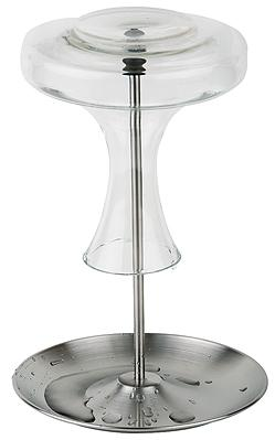 ESCORREDOR DECANTER INOX ##